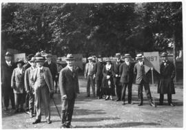 Photograph of a Dalhousie alumni procession