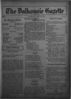 The Dalhousie Gazette, Volume 56, Issue 20
