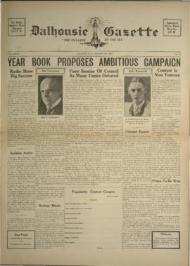 Dalhousie Gazette, Volume 69, Issue 12