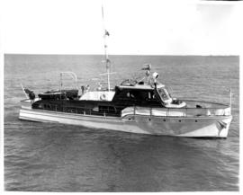Photograph of the Lady Betty II at sea