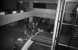 Photograph of the lobby of the Dalhousie Arts Centre