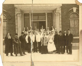 Photograph of Victoria General Hospital Staff Members
