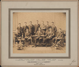 Photograph of Dalhousie S. C. A. Cabinet - Men's Branch