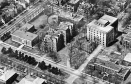 Aerial views of Dalhousie campus - Archives Catalogue