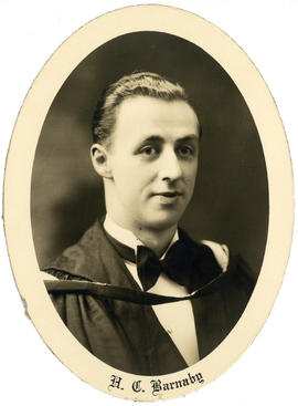 Portrait of Harry Cogswell Barnaby : Class of 1929