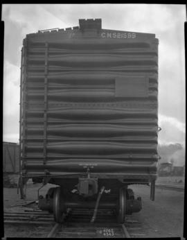 Photograph of an Eastern Car Co. Ltd. Box Car