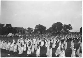Photograph of a dance performance at a Dalhousie reunion