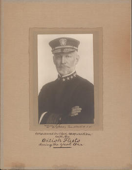 Photograph of William S. Sims, Real Admiral, United States Navy