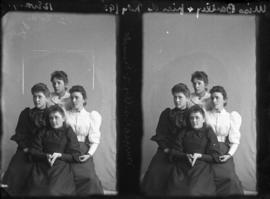 Photograph of Mrs. Bartley and unknown individuals