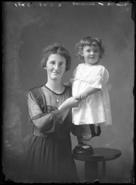 Photograph of Mrs. C.P. Smith & baby