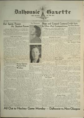 Dalhousie Gazette, Volume 71, Issue 13