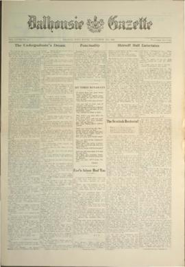 Dalhousie Gazette, Volume 58, Issue 5