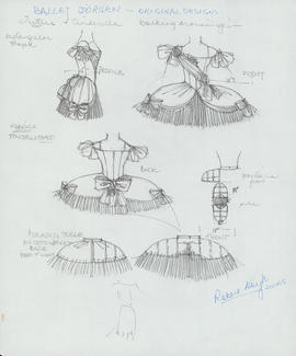 Cinderella tutus : working drawings and notes