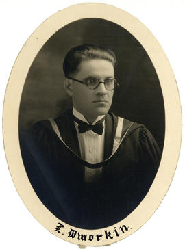 Portrait of Louis Dworkin : Class of 1926