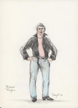 Costume design for Roger