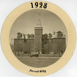 Photograph of Dalhousie's Forrest Building [1928]