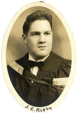 Portrait of J.E. Rigby : Class of 1949