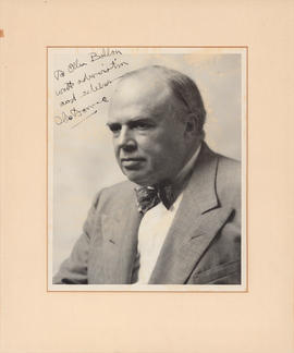 Olin Downes : [autographed photograph]