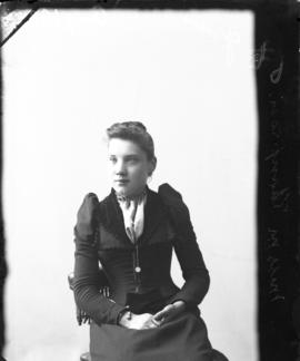 Photograph of Mrs. M. Thompson