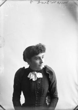 Photograph of Miss McLeod