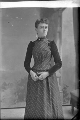 Photograph of Miss Davidson