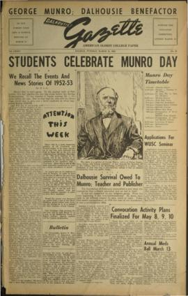Dalhousie Gazette, Volume 85, Issue 39