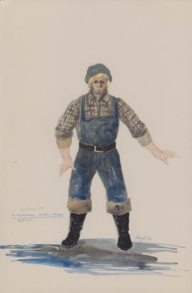 Costume design for Bottom