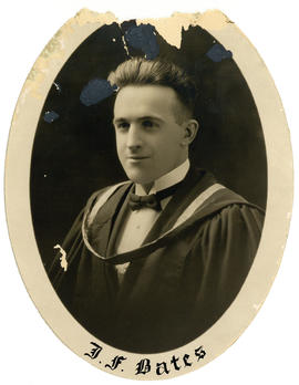 Portrait of John Fabian Bates : Class of 1926