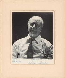 Sir Thomas Beecham : [autographed photograph]
