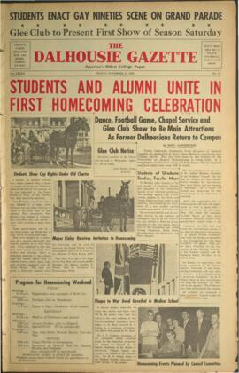The Dalhousie Gazette, Volume 82, Issue 12