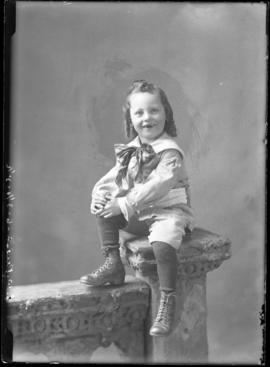 Photograph of the son of Mr. J.W. Priest