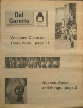 Dalhousie Gazette, Volume 102, Issue 12