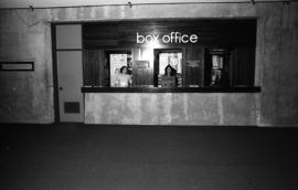 Photograph of the box office in the Dalhousie Arts Centre
