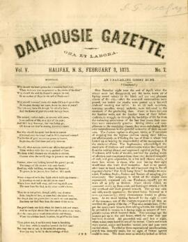 Dalhousie Gazette, Volume 5, Issue 7