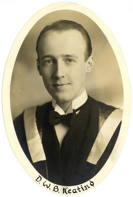 Portrait of D.W.B. Keating : Class of 1949