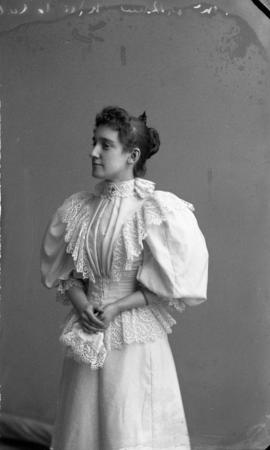 Photograph of Miss McLennan