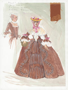 Costume design for Picnic Guests
