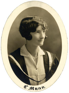 Portrait of C. Mann : Class of 1928