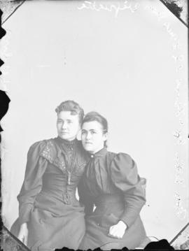 Photograph of Mrs. Ester McLeod and friend