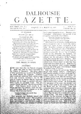 Dalhousie Gazette, Volume 12, Issue 9