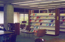 Photograph of the McNab Reading Room in the Killam Memorial Library, Dalhousie University