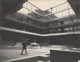 Photograph of Killam Memorial Library atrium