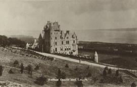 Postcard of Belfast Castle and Lough
