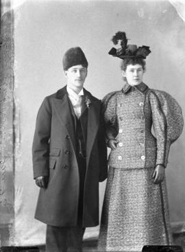 Photograph of Mr. & Mrs.  Payson Clark