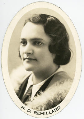Photograph of Helen Dorothy Remillard