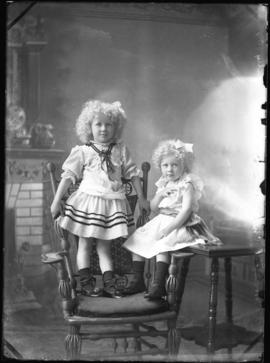 Photograph of the daughters of Mr. McNeil