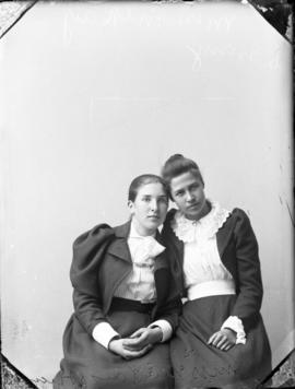 Photograph of Miss McKay and her friend