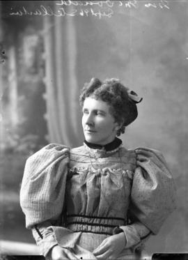 Photograph of Mrs. McDonald