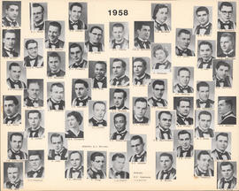 Composite Photograph of the Faculty of Medicine - Class of 1958