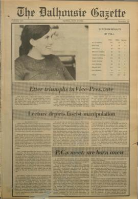 The Dalhousie Gazette, Volume 101, Issue 10